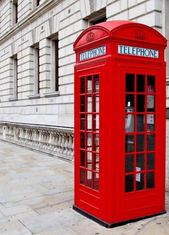 British red phonebox